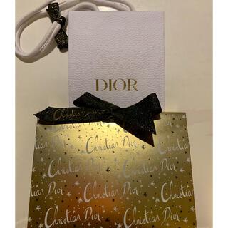 クリスチャンディオール(Christian Dior)のディオール ギフトボックス 2020ホリデー ゴールド(ショップ袋)