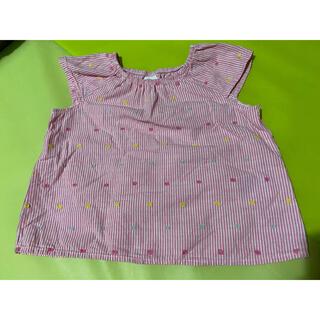 エイチアンドエイチ(H&H)のH&M  夏トップス 74cm(6-9M)(Tシャツ)