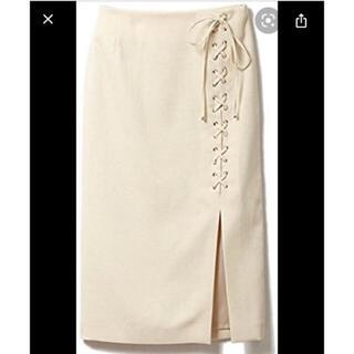 ドロシーズ(DRWCYS)のサイド編み上げタイトスカート(ロングスカート)