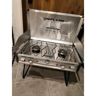 ユニフレーム(UNIFLAME)のユニフレーム ツーバーナー US-1900(ストーブ/コンロ)