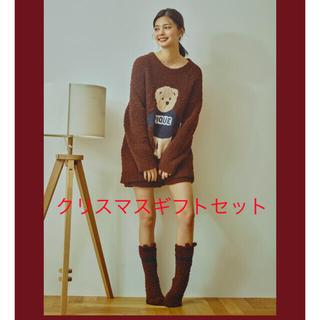 【クリスマス】ソックス付きジェラートベアJQDプルオーバー&ショートパンツSET