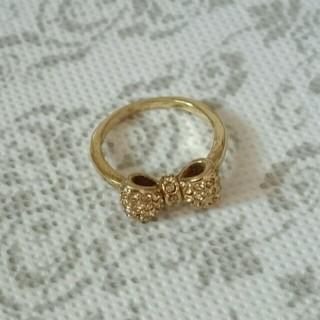 【7号】リボンのリング(リング(指輪))