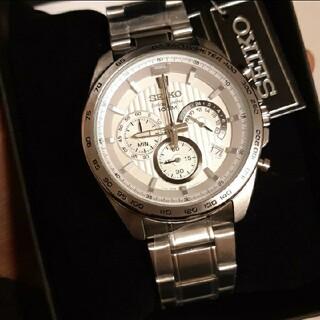 セイコー(SEIKO)の新品!SEIKO クロノグラフ腕時計(腕時計(アナログ))