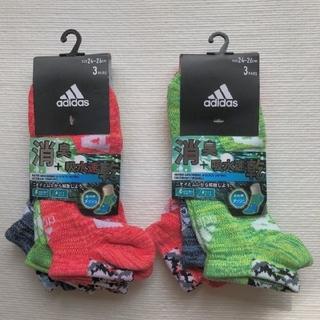 アディダス(adidas)のadidas スニーカーソックス(ソックス)