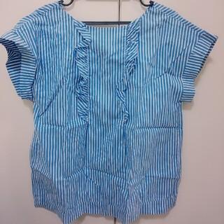 アナトリエ(anatelier)のanatelier ストライプシャツ(シャツ/ブラウス(半袖/袖なし))