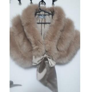 フォクシー(FOXEY)の美品 サガホックス ケープ(毛皮/ファーコート)
