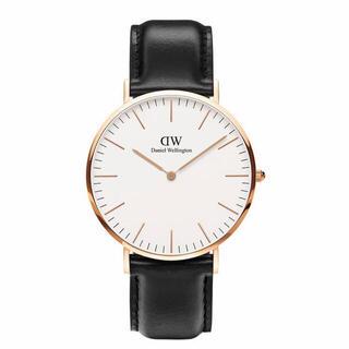 ダニエルウェリントン(Daniel Wellington)の【40㎜】ダニエル ウェリントン腕時計DW00100007〈3年保証付〉(腕時計(アナログ))