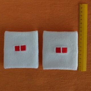 ユニクロ(UNIQLO)のユニクロ リストバンド 白(2個セット)(その他)