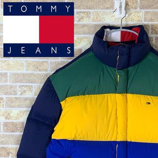 トミー(TOMMY)のイッヌ様専用 トミージーンズ 刺繍ロゴ ゆるだぼ 90s ダウン ジャケット(ダウンジャケット)