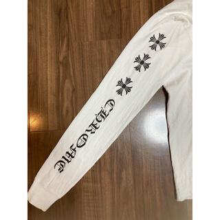 クロムハーツ(Chrome Hearts)のクロムハーツ ロングTシャツ 白 ロゴ(Tシャツ(長袖/七分))