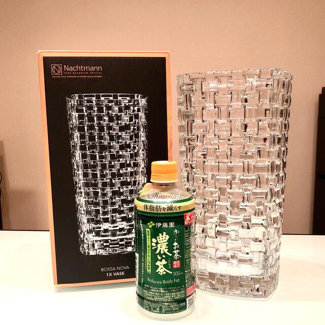 Nachtmann(ナハトマン)のtonjinohaha様専用⭐︎Nachtmannボサノバ オーバルベース28㎝ インテリア/住まい/日用品のインテリア小物(花瓶)の商品写真
