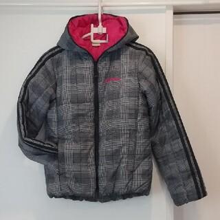 アディダス(adidas)のadidas 中綿レデースフードジャケット(テーラードジャケット)