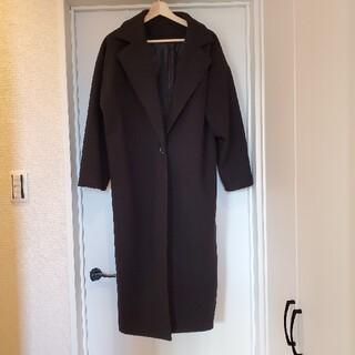 ドゥドゥ(DouDou)のDouDou  ロングコート BLACK コート(ロングコート)