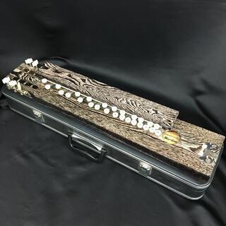 ナルダン 大正琴 木目調 レトロ モダン 弦楽器(大正琴)