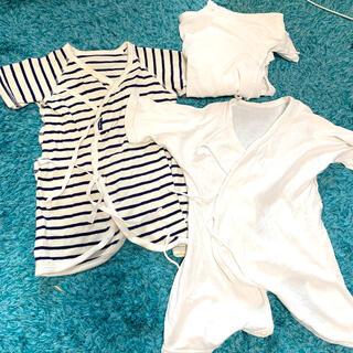 ニシキベビー(Nishiki Baby)のBonchouchou コンビ肌着とコンビ肌着2枚の3点セット(肌着/下着)