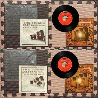 昭和レトロ 昭和 レトロ グループサウンズ ザタイガース EP盤レコード 雑貨(ポップス/ロック(邦楽))