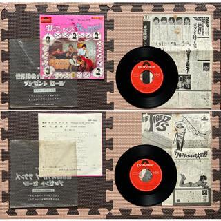 昭和レトロ 昭和 レトロ グループサウンズ ザタイガース EP盤レコード 雑貨(映画音楽)