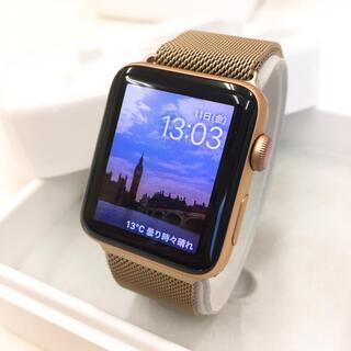 アップルウォッチ(Apple Watch)のApple Watch series3 Gold アップルウォッチ 42mm(腕時計(デジタル))