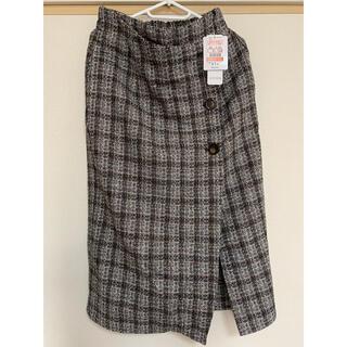 シマムラ(しまむら)のツイードナロースカート(プチプラのあや)(ひざ丈スカート)