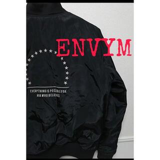 アンビー(ENVYM)のENVYM ジャケット MA-1(ブルゾン)