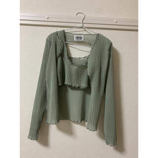 ステュディオス(STUDIOUS)のkotoha yokozawa Pleats jacket and top(その他)