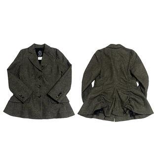 マルタンマルジェラ(Maison Martin Margiela)の美品 美品 ジョンガリアーノ カシミヤ デザイン テーラードジャケット (テーラードジャケット)