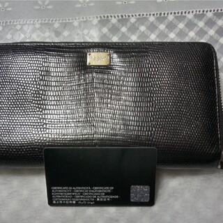 ドルチェアンドガッバーナ(DOLCE&GABBANA)のDOLCE&GABBANAラウンドファスナー長財布(長財布)