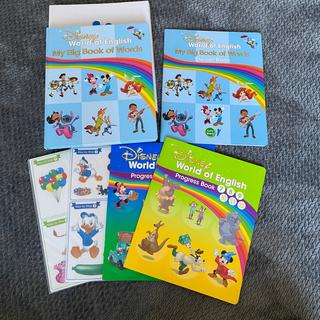 ディズニー(Disney)のディズニー英語システム MY BIG BOOKOF WORDS(絵本/児童書)