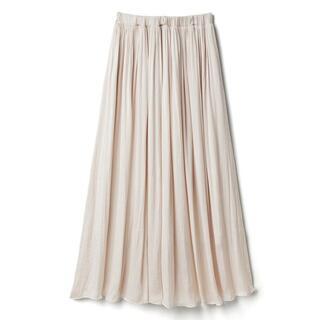 グレイル(GRL)の新品タグ付き ギャザーフレアスカート(ロングスカート)