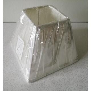 ローラアシュレイ(LAURA ASHLEY)のセール/終売品☆ローラアシュレイ フェンシェード ホワイト 7.5インチ(フロアスタンド)