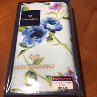 マリオバレンチノ(MARIO VALENTINO)のMARIO VALENTINOフェイスタオル  お値下げしました。(タオル/バス用品)