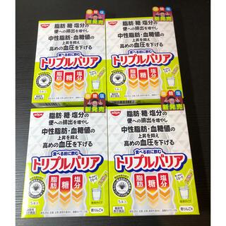 ニッシンショクヒン(日清食品)の【送料込】日清 トリプルバリア 4箱(その他)