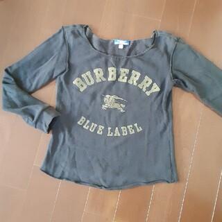 バーバリーブルーレーベル(BURBERRY BLUE LABEL)のBURBERRY BLUE LABELトレーナー スエット(トレーナー/スウェット)