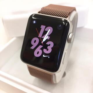 アップルウォッチ(Apple Watch)のApple Watch シリーズ2 NIKE 42mm シルバー(その他)