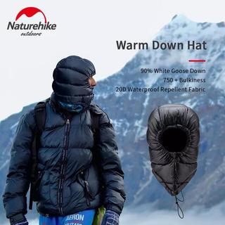 ダウン 帽子 防寒 キャンプ 冬山 登山(登山用品)