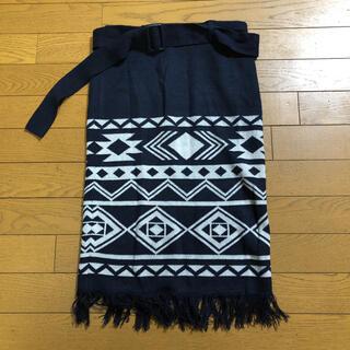 アズールバイマウジー(AZUL by moussy)のレディース スカート(ひざ丈スカート)