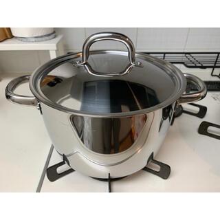 イケア(IKEA)のIKEA 蓋つき深鍋(鍋/フライパン)