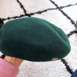バーバリーブルーレーベル(BURBERRY BLUE LABEL)の幸せプリン様  未使用品♡ブルーレーベルクレストブリッジ ウールベレー帽(ハンチング/ベレー帽)