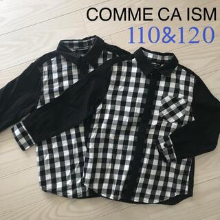 コムサイズム(COMME CA ISM)の美品☆COMME CA ISM シャツ 2点セット(ブラウス)