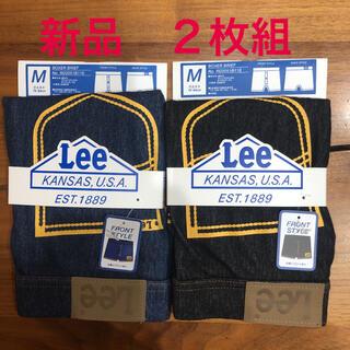 リー(Lee)のLEEボクサーパンツ デニム調 インディゴ+ワンウォッシュ 新品タグ付 最終値下(ボクサーパンツ)