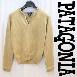 パタゴニア(patagonia)のパタゴニア キーネック!レディースウールセーター極暖アウトドアインナー女性用S(ニット/セーター)