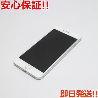 アイフォーン(iPhone)の美品 SIMフリー iPhone6S PLUS 16GB シルバー (スマートフォン本体)