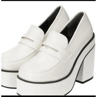 エスペランサ(ESPERANZA)のESPERANZA ハイヒールローファー(Sサイズ)(ローファー/革靴)
