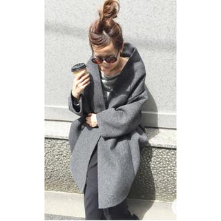 L'Appartement DEUXIEME CLASSE - REALITY STUDIO Wool Cocoon Volume Coat