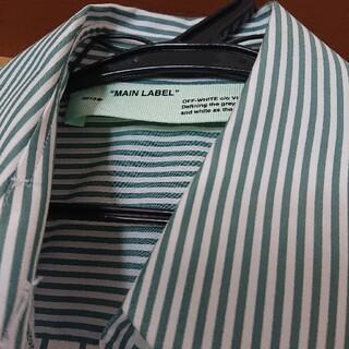 オフホワイト(OFF-WHITE)のoff-white ストライプシャツ 美品(シャツ/ブラウス(長袖/七分))
