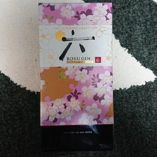 サントリー(サントリー)の六 ジン【SELECT EDITION】 グラス付き ROKU GIN(蒸留酒/スピリッツ)