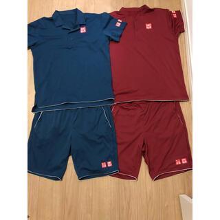ユニクロ(UNIQLO)のユニクロ uniqlo シャツ パンツ テニス ウェア フェデラー 錦織 (ウェア)