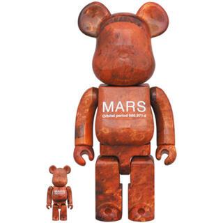 メディコムトイ(MEDICOM TOY)の新品 MARS BE@RBRICK 100% & 400%(キャラクターグッズ)