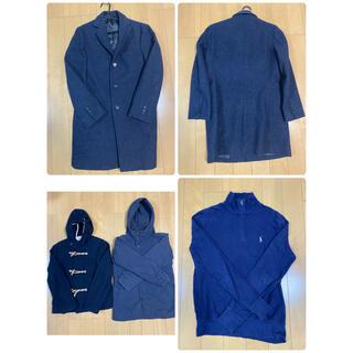 ユナイテッドアローズ(UNITED ARROWS)の10万円相当お得❗️メンズ 洋服14点セット売り 冬物大セール(ピーコート)