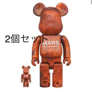 MARS BE@RBRICK 100% & 400% 2個セット(その他)